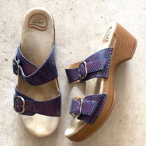 Dansko Adjustable 2-Straps Clogs Style Sandals
